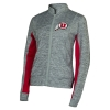 Image for Utah Utes Lightweight Athletic Logo Heather Jacket