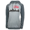 Image for Utah Utes Gymnastics City Skyline Womens Hoodie