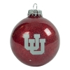 Image for Utah Utes Sparkly Interlocking U Ornament