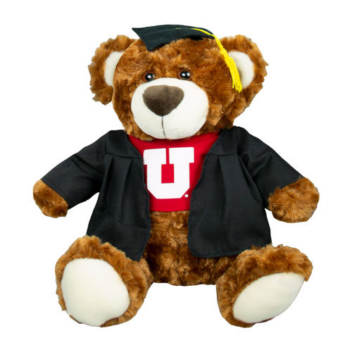 Image For Utah Utes Graduation Bear