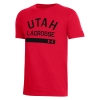 Image for Utah Utes Lacrosse Under Armour Youth Tee