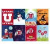 Image for Utah Utes Sewing Concepts 8-pack Seasonal Garden Banners
