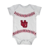 Image for Utah Utes Interlocking U Baseball Onesie