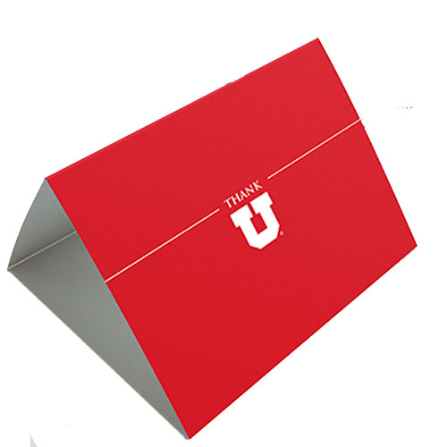 Image For Red Thank U Cards