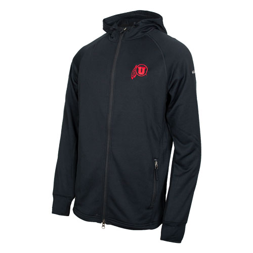Cover Image For Utah Utes Athletic Logo Full Zip Columbia Jacket