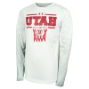 Image for Utah Utes Under Armour Basketball Long Sleeve Shirt