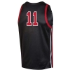 Cover Image for Utah Utes Under Armour Basketball Black #11 Jersey