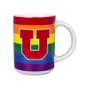 Image for Utah Utes Block U Pride Mug