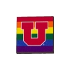 Image for Utah Utes Block U Pride Pin