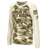 Image for Utah Utes Youth Colosseum Desert Camo Long-Sleeved Tee