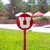 Image for Utah Utes Block U Steel Garden Stake