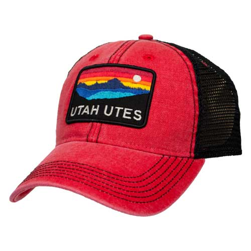 Cover Image For Utah Utes Legacy Vintage Horizon Hat