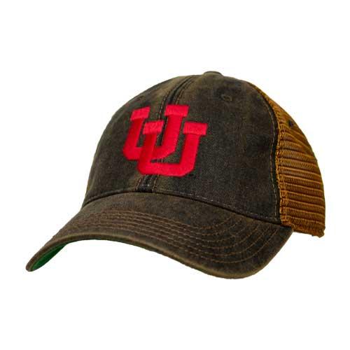 new arrival 9fea1 a6f69 Image For Utah Utes Interlocking U Legacy Vintage Hat