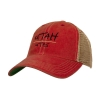 Image for Utah Utes Faded Youth Adjustable Trucker Hat