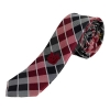 Image for Utah Utes Interlocking U Plaid Skinny Tie