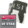 Image for Utah Utes Mountainscape Knit Blanket