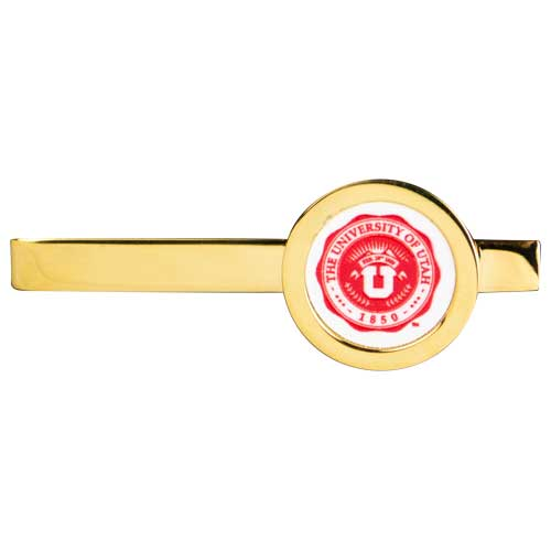 Cover Image For Utah Utes University of Utah Medallion Gold Plated Tie Bar