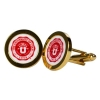 Image for University of Utah Medallion Gold Plated Cufflinks
