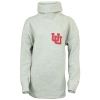 Image for Utah Utes Women's Interlocking U Grey Turtleneck