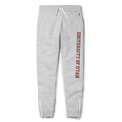 Image For Utah Utes Ash Jogger Sweatpants