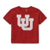 Image for Utah Utes Womens League Interlocking U Crop Tee