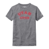 Image for Utah Utes Faded Text League Youth Tee