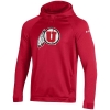 Image for Utah Utes Red Quilted Under Armour Hoodie