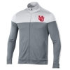 Cover Image for Utah Utes Interlocking U Salt and Pepper Quarter-Zip