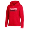 Image for Utah Utes Women's Under Armour Twill Sweatshirt