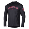Image for Utah Utes Under Armour Arched Text Longsleeve T-Shirt