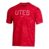 Image for Utah Utes Under Armour Striped Patterned T-Shirt