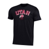 Image for Utah Utes Under Armour Black Block Utah Tee
