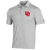 Image for Utah Utes Interlocking U Under Armour Men's Polo