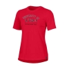 Image for University of Utah Under Armour Womens Red Establishment Tee