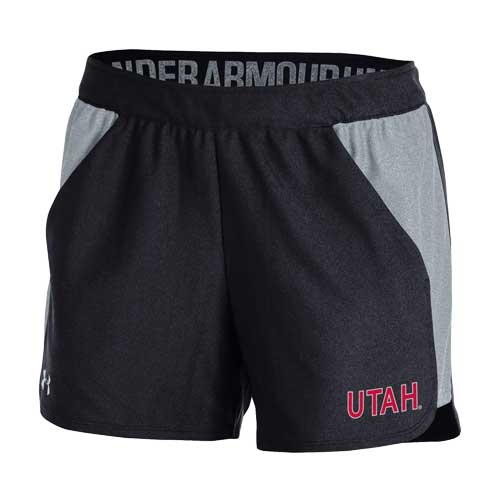 Image For Utah Utes Under Armour Two Toned Women's Shorts