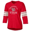 Image for Utah Utes Interlocking U Jersey Style Women's Shirt
