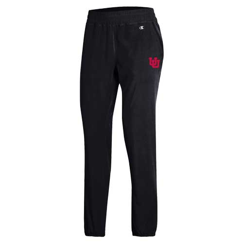 Image For Utah Utes Champion Womens Athletic Joggers