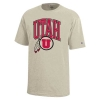 Image for Utah Utes Athletic Logo Beige Youth Shirt