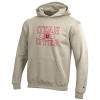 Image for Utah Utes Athletic Logo Youth Oatmeal Pattern Hoodie