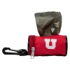 Image for Utah Utes Block U Refillable Pet Poop Bag Holder