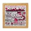 Image for Utah Utes 16-Piece Drawn Art Wooden Jigsaw Puzzle