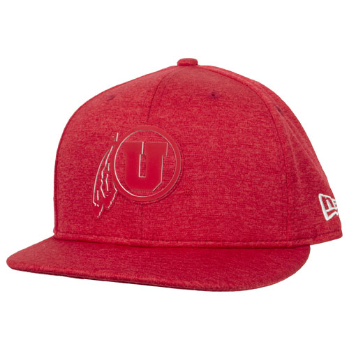 Cover Image For Utah Utes Althetic Logo New Era Hat