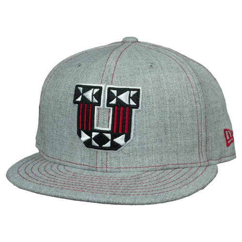 Image For Ute Proud Block U Adjustable Grey Snapback Hat