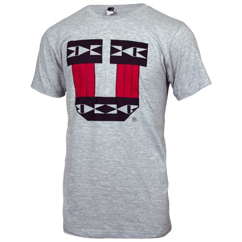 Image For Utah Utes Tribal Pattern Block U T-Shirt