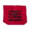 Image for Utah Utes Athletic Logo Zippered Tote Bag