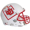 Image for Utah Utes Interlocking U State Pride Replica Helmet