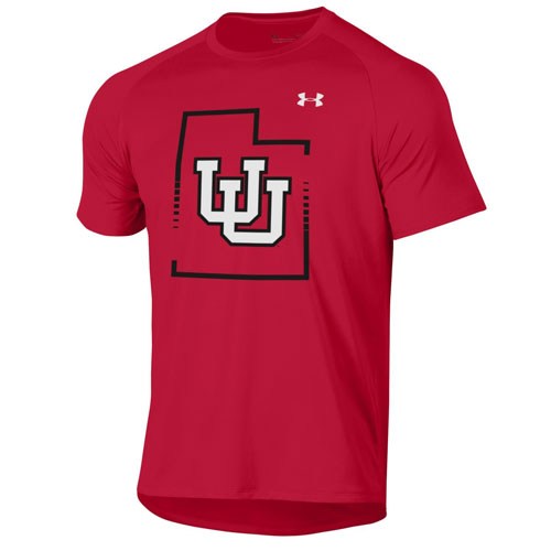 Image For Utah Utes State Pride Under Armour Shirt