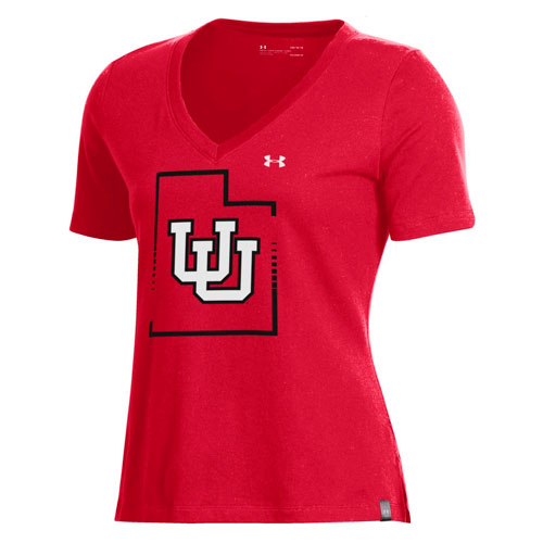 Image For Utah Utes State Pride Under Armour Women's Shirt