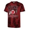 Image for Utah Utes Athletic Logo Vintage Tie Dye Tee