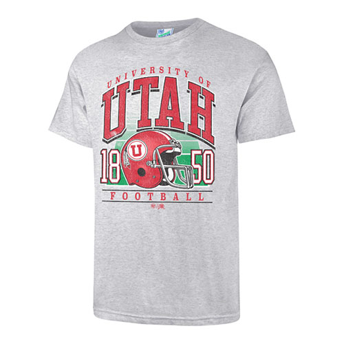 Image For University of Utah Vintage Football T-shirt